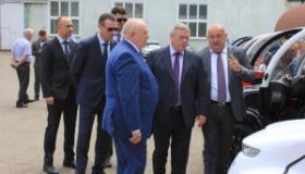 Визит губернатора Ростовской области Голубева В.Ю.